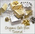Tutorial to download - Origami gift box with separate lid
